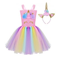 Nouveaux Enfants Filles Princesse Cosplay Costumes Robe pour Enfants Halloween Costume Longueur Au Genou Dress Up Fantaisie Fête Carnaval Vêtements