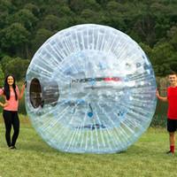 Frete Grátis Inflável Zorb Bola para Venda Bola de Hamster Human Size para as pessoas Vá dentro Clear PVC Bola de Grama / Bola de Neve