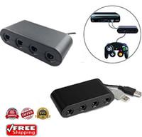 Nintendo Anahtarı Wii U PC USB 4 Port için Game Cube Kontrolörü Adaptörü