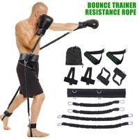 25LBC Körper Band Übung Gürtel für Sprungtraining Workout Leg Tennis Fitness Training Bouncing Trainer für Männer Frauen