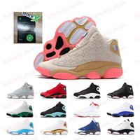 Sapatos Momentos Top Quality Atacado barato NOVO 13 13s CNY Tribunal roxo Definindo Mens Basketball Sneakers Sports For Men Tamanho 7-13