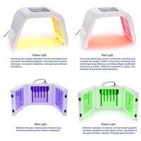 محمول OMEGA ضوء LED PDT العلاج أحمر أزرق أخضر أصفر اللون 4 بقيادة قناع الوجه ضوء العلاج بالضوء آلة مصباح للتجديد الجلد