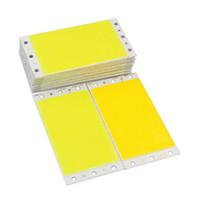 12 V 15 W rectangulaire COB LED surface source de lumière, Chaud, Blanc Froid, Blanc naturel, rouge, vert et bleu dc12vled puce, 94 * 50mm CRESTECH