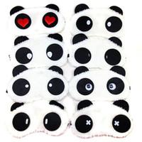 3D de dibujos animados ojo del sueño máscara de sombra Resto acolchada cubierta para transporte Relax cubierta del ojo Blindfolds máscara para dormir Eye Care herramienta de la belleza RRA1274