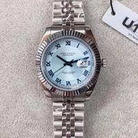 Top Uomini Ice Blue 40 millimetri movimento meccanico automatico Datejust GIUBILEO Mens del braccialetto diamante progettista Orologi della vigilanza