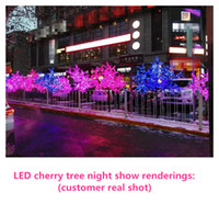 New Arrival LED Cherry Blossom Christmas Tree Lighting P65 W...