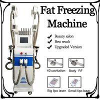 2019 zayıflama makinesi Cryolipolysis Liposuction 4 Kol Freeze Cryolipolysis Lipo Cryo Kriyoterapi Yağ Donma Makinası