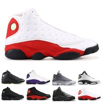 Nike Air Jordan 13 AJ13 Retro 2020 Männer Basketballschuh 13 13s LUCKY GREEN Kappe und das Kleid Chicago Herren Phantom Altitude Bred Trainer Sport Sneakers t41