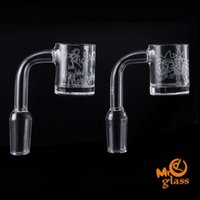 Quartz Banger Sandblasted Quartz Banger Nails 10mm 14mm 18mm...