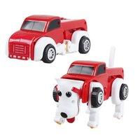 Karikatür wind-up köpek arabası, sevimli dönüştürülebilir clockwork oyuncak, seçimler için üç renk, parti Noel çocuk doğum günü hediyeleri, toplama