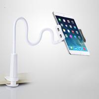 Flexibelt skrivbordstelefon tabletthållare för iPad Mini Air Samsung för iPhone 3.5-9.7 tum Lazy Bed Tablet PC Stands Mount