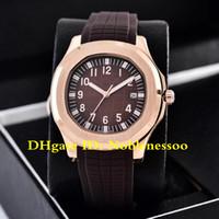 7 цвет часы мужские 40 мм часы 5167R-001 автоматические 18K розовое золото 5167R 5167 резиновые полосы прозрачные механические мужские автоматические часы