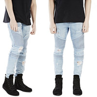 Newest West styles Jeans Rockstar Jeans Denim Pants Mens Hip...