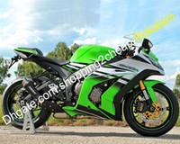 Kropps kit för Kawasaki Ninja ZX10R 11 12 13 14 15 ZX-10R 2011 2012 2013 2014 2015 ZX 10R ABS motorcykel fairing (formsprutning)
