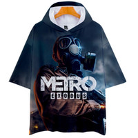 Metro Exodus 3D Men' s Women' s T shirt with hat Hig...
