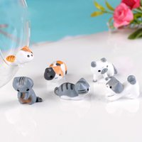 Simulated Cat Ornament 6 Styles Moss Micro Landscape Decorat...