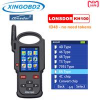 Lonsdor KH100 PROGRAMME TOUCHE SMART TÉLANGE À LA MAIN Générez une puce / détectez la fréquence à distance de la puce TOYOTA 8A (H)