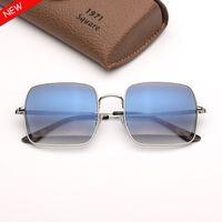 ماركة أزياء نظارات شمسية مصمم نظارات بصرية راي نظارات رجالي نظارات الشمس النظارات des lunettes de soleil square mens sunglasses