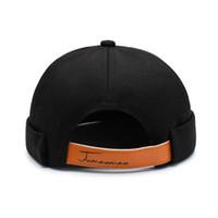 Hommes Femmes Bonnet brimless réglable Retro Calotte Hip Hop Hat Accessoires Calotte Vêtements de sport Portable