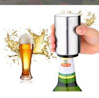 스테인레스 스틸 병 오프너 자동 맥주 소다 캡 와인 술 병따개 세트 주방 잡화 주방 도구 가제트 DHL