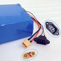 Пакет 1500W 48V 30Ah батареи для электрических скутеров литиевой батареи для Электрического велосипеда 30 BMS 48V 1000W 1500W Мотор Свободного корабля
