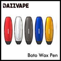 Аутентичные Dazzvape Boto Воск Pen Испаритель 350mAh Concentrate Vape Pen Kit с микропористой Кварц Coil Pure Vapor 100% оригинал