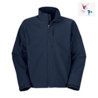 2019 BRAND UOMO oudoor Softshell Polartec norTh Jacket Uomo Sports face pile uomo cappotto apex apri blu navy giacca cappotti
