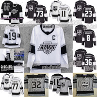 Années 90 Années Heritage Los Angeles LA Kings Jersey Anze Kopitar Dustin Brown Iafallo Doughty Campbell Kovalchuk Carter Jonathan Quick Turcotte
