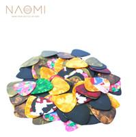 Наоми гитара выбирает много 20 шт. новый тонкий гитара выбирает Целлулоид 0.46 мм/0.58 мм / 0.71 мм гитара части аксессуары новый