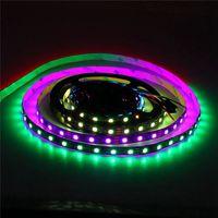 RGB LED Streifen-Licht 32.8ft WS2811 Adressierbarer Programmierbare Traumfarbe Digital-LED Pixel Licht 24V 10m 600 LEDs Regenbogen-Jagd-Effekt LED