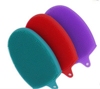 Silicone Shower Brushes Dish Cleansing Pads High Quality ids...