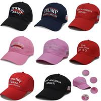 8 Farben Trumpf 2020 Baseball Caps Designer Hut Halten Amerika Große 2020 Stickerei Sport Ball Hut Reise Strand Sonnenhut Party Hüte DHLHH9-2216