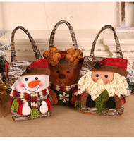 New Christmas Decoration Candy Bag Christmas Gift Tote Gifts...