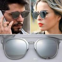بيع جديد 2019 جديد الصيف composit 1.0 النظارات الشمسية المرأة العلامة التجارية مصمم النظارات الشمسية steampunk أزياء الرجال النظارات الشمسية oculos دي سول نظارات شمسية.