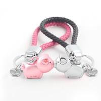 3d Öpücük Domuz Çift Anahtarlık İçin Aşıklar Hediye Trinket Güzel Anahtar Tutucu Kadınlar Günümüze Chaveiro Sleutelhanger Araba Anahtarlık
