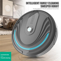 Completa Mini Automatic Vacuuming Robot Início Sweeper Robot Robotic Vacuum Cleaner Eletrodomésticos inteligentes de carregamento Sweeper