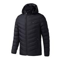 fa76c4b9a4d91 Calentamiento eléctrico hombre mujer chaqueta chaleco chaleco mujeres abrigo  ropa de plumas térmica Softshell chaqueta invierno