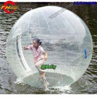 2 pcs por lote inflável bola de passeio de água para piscina bolas de rolamento de PVC comercial para o navio livre humano a porta