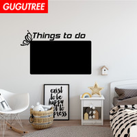 Decorate Home blackboard art wall sticker decoration Decals ...