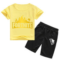 Fortnite Suit Short- sleeved T- shirt + Cotton Shorts