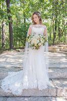 2019 branco marfim nupcial do casamento Wraps Casacos Cloaks Lace Alças nupcial Capes noiva Acessórios Custom Made