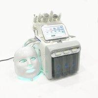 1 개 거품 기계 H2O2 유압 분쇄 산소 스프레이 얼굴 젊은 유압 박리 세탁기 검은 머리 박리 7 새로운