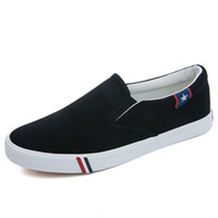 Casual Shoes Men Mocassini 2019 Estate traspirante di alta qualità confortevole Slip-On scarpe di tela da uomo Sneakers