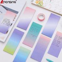 Kawaii papel de carta pegajoso notas fofas papeleria memo pad para decoração de escritório para fazer lista notas pegajosas Material Escolar