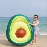 Inflatable Giant Unicorn Avocado Pool Float Pool Swimming Fl...