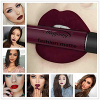 18 Colors Soft Matte Lipgloss Sexy Nude Liquid Lip Gloss Mat...