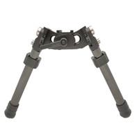 LRA luz de fibra de carbono táctico de largo alcance Bípode bípode para la caza del rifle