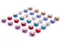 Big Hole Loose Beads crystal charms For Pandora DIY Jewelry ...