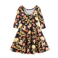 Ishowtienda Girls Spring summer dress casual style baby girl...