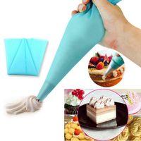 Labra la herramienta herramienta de alta calidad de silicona torta de los pasteles que adorna la pasta para glasear aflautada del bolso cozinha panadería postre Hornear Accesorios de Cocina